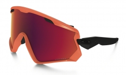 Купить Горнолыжные очки Oakley Wind Jacket 2.0 - Neon Orange / Prizm Torch Iridium